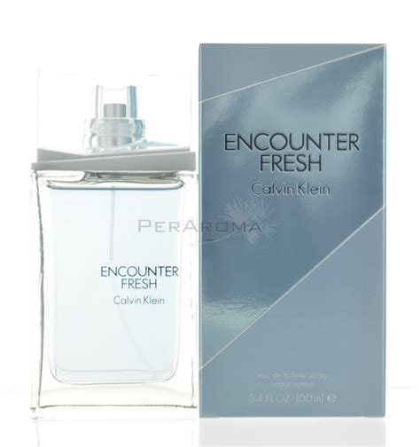 encounter fresh by calvin klein for eau de toilette for 3 4 oz 100 ml spray