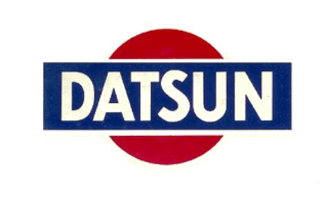 vintage datsun logo original datsun logo the wheel