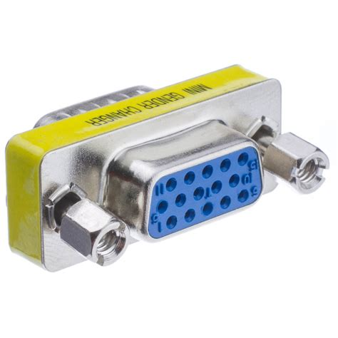 Vga For Pc svga mini coupler for pc hd15 to hd15