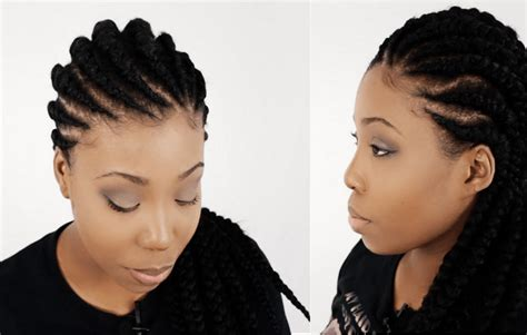 natural hair style in ghana 5 hot new protective braid styles for natural hair