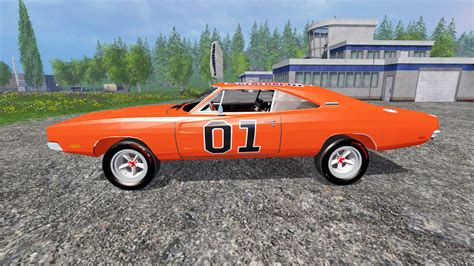 dodge charger rt mods dodge charger rt 1969 general for farming simulator 2015