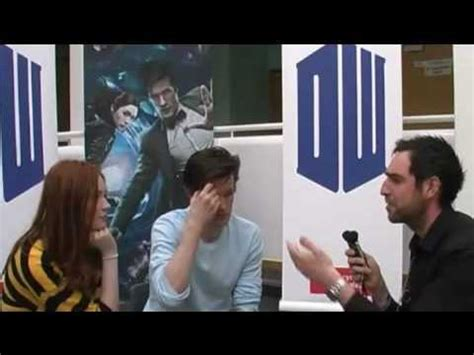karen gillan youtube interview matt smith karen gillan interview youtube