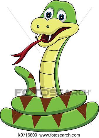 clipart divertenti clipart divertente serpente cartone animato k9716800