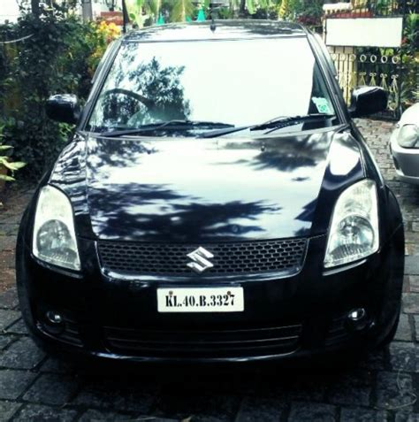 maruti swift vdi  black color car  sale