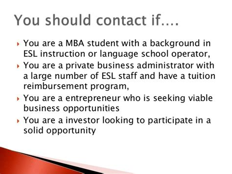 Mckinsey Mba Tuition Reimbursement by Toeic Test Prep Program Marketing Presentation