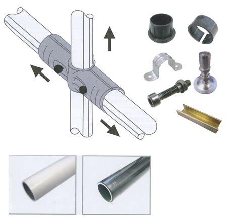 scaffali tubolari conveyor market strutture tubolari componibili