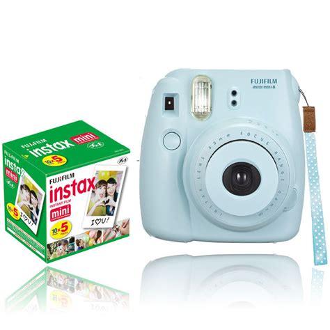 Fujifilm Instax Mini 8 Blue new fuji instax mini 8 blue fujifilm instant 50 sheets 74101102253 ebay