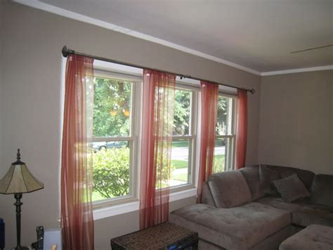 Curtains For Large Windows Inspiration Window Curtain Exles Window Curtains Drapes