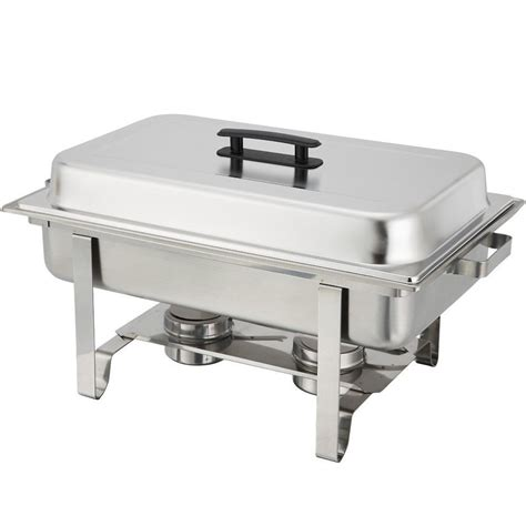 stainless steel chafer 8 qt chafing dish server party