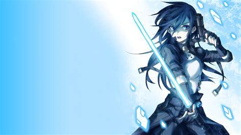 wallpaper blue anime sword art online tags anime blue sao image resolution x