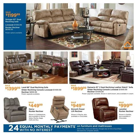furniture homestore on flyer february 3 to 24