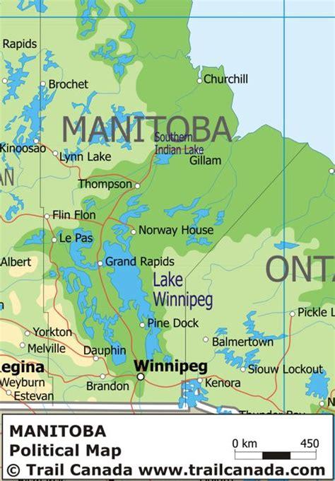 maps manitoba canada obryadii00 map of manitoba