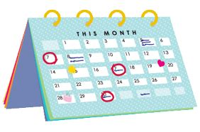 how to make a period calendar ovulation calendar create a free period calendar