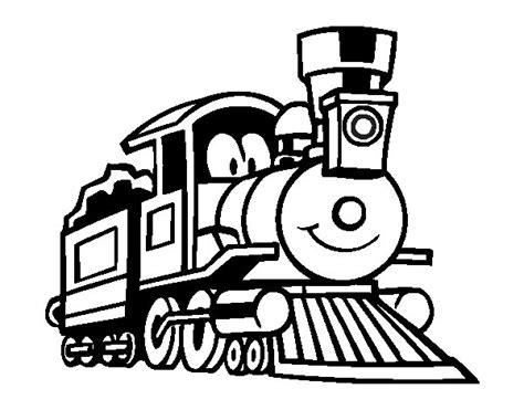 imagenes para colorear un tren dibujo de tren divertido para colorear dibujos net