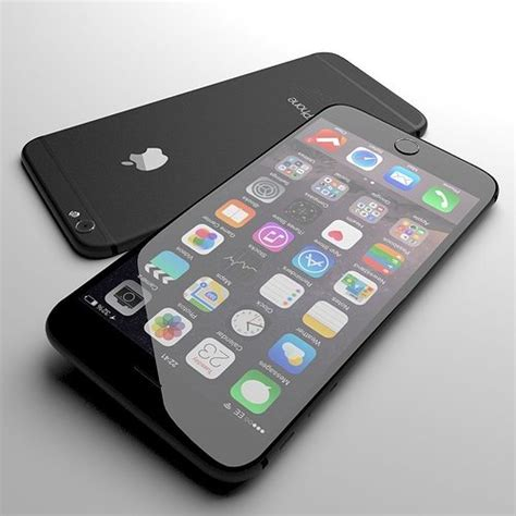 3d model apple iphone 6 black cgtrader
