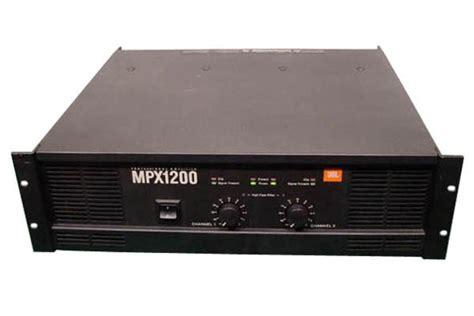 Power Lifier Mobil Jbl jbl mpx1200 power lifier gearsource