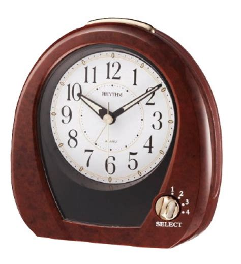 desk alarm clock clockway rhythm musical table alarm clock gtm2292