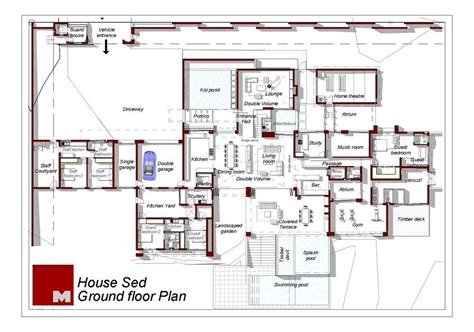 house architectural plans aeccafe archshowcase