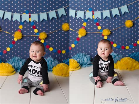 cleveland baby photographer lydia 6 months bennett at six months cleveland baby photographer