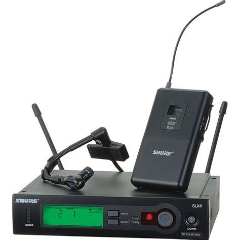 Mic Wireless Klip On shure slx wireless clip on condenser microphone slx14