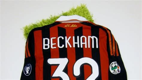 Patch Wcc 2010 Winner Inter Milan For Original Jersey beckham match issued worn shirt milan serie a 2009 2010 charitystars