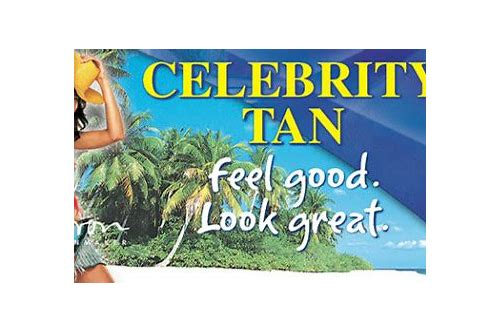 coupons for celebrity tanning