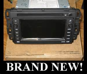 new 2007 2011 saturn outlook navigation dvd radio 2009 2010 unlocked