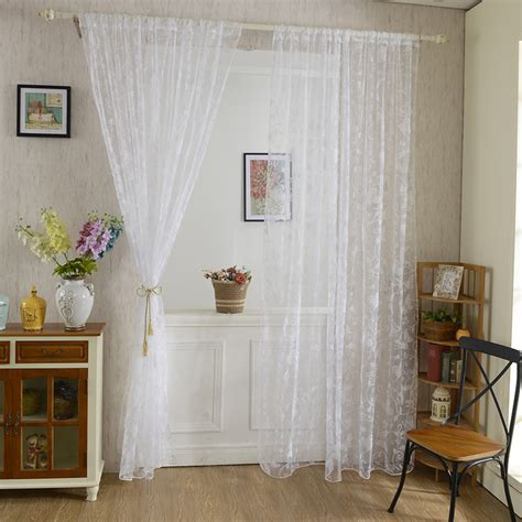 beautiful voile curtains elegant and beautiful butterfly pattern tulle voile door