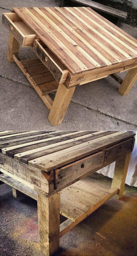easy pallet sofas  coffee tables  diy