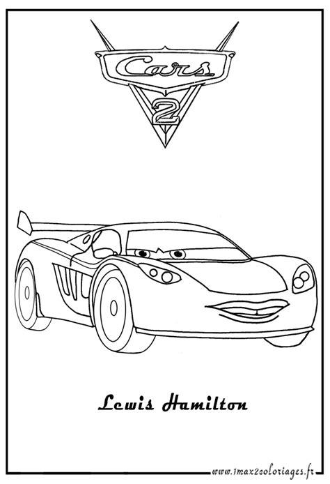cars 2 coloring pages lewis hamilton coloriages cars 2 lewis hamilton cars 2 coloriages les
