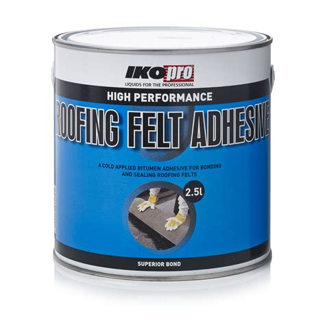 Shed Felt Wilkinsons by Ikopro High Performance Roof Felt Adhesive 2 5l