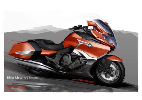 BMW K1600B   Germany's Six Cylinders of Bagger