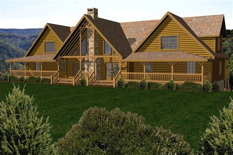 5000 log cabin log home floor plans 5 000 square