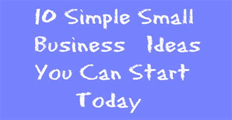 Easy Small Home Business Ideas Easy Small Business Ideas Us