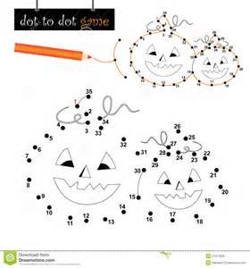 dot dot game halloween pumpkins royalty free stock photo image 21474935