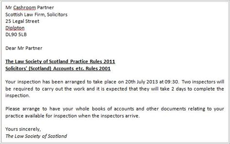 turnover letter templates the society of scotland and guidance by the