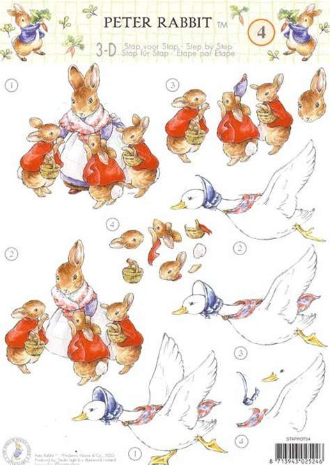 Beatrix Potter Decoupage - in free 3d decoupage search 3d
