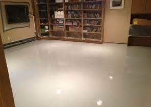 basement floor epoxy and sealer flooring ideas floor