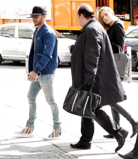 Sport Raindrop Grey Led Sz 31 36 lewis hamilton pictured leaving berlin hotel with model nemcova daily mail
