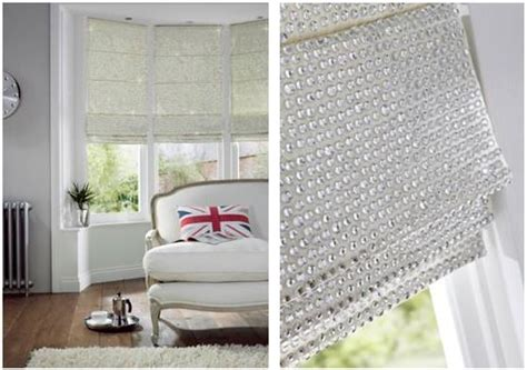 White And Gray Roman Shades - jewelled and metallic window blinds 171 apollo blinds blog
