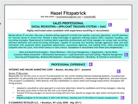 how to write the perfect resume business insider