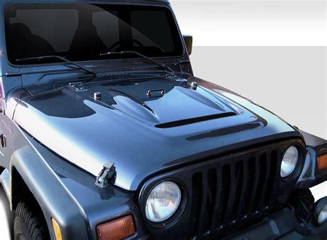 jeep body kits 2002 jeep wrangler fiberglass hood body kit 1997 2006