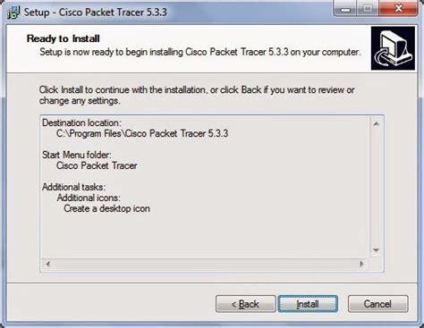 Tutorial cara instal Cisco Packet Tracer