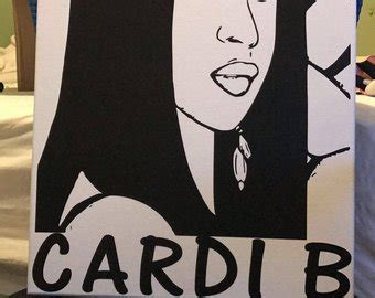 Cardi B Coloring Pages by Cardi B Drawing Pictures To Pin On Pinsdaddy