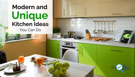 unique kitchen ideas modern and unique kitchen ideas you can do top reveal