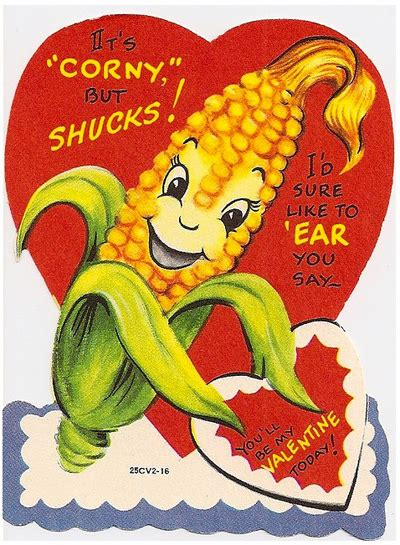 corny valentines day cards my sustainable big city bucolic