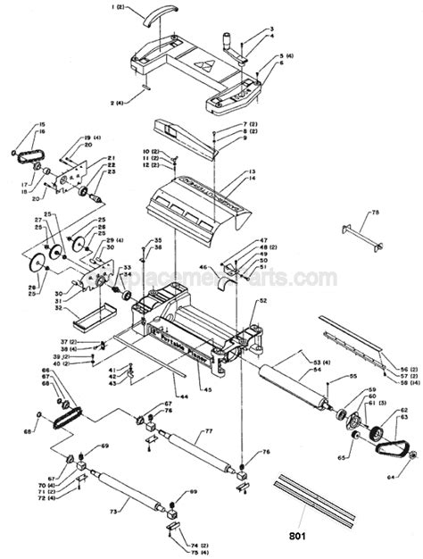 Delta 22 540 Parts List And Diagram Type 2
