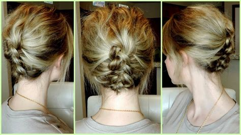 braids updo for short hairstep by step easy braided hairstyles for short hair step by hairstyles