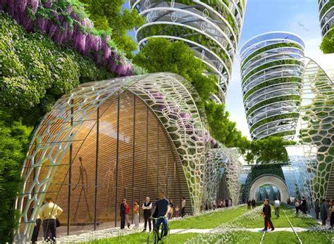 futuristic paris smart city  filled  flourishing