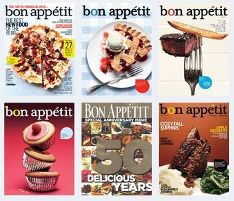 bon appetit magazine for only $5.43 per year (63% off